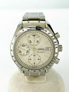 Secondhand Omega Speedmaster Date/day-date Ss/analog/stainless/slv/chronograph