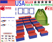 Compatible Darts 1000pcs Refill Pack Bullet For Nerf N-strike Elite Tactical Toy