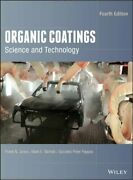 Organic Coatings Science And Technology By Frank N Jones Used