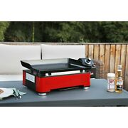 Table Top Gas Flat Grill Griddle Propane Portable 1 Burner Bbq Cooking Outdoor
