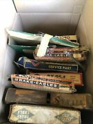 1940s Through 1960s Chevy Ford Mopar Brake Cables Speedometer Cable Box Lot