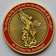Challenge Coin St Michael