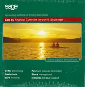 Sage Line 50 Financial Controller V8, Full Top Level Accounting Software Package