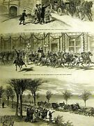 Grant In Chicago South Park Palmer House Shore Drive Lincoln Pk 1879 Art Matted