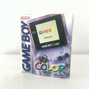 Nintendo Game Boy Color - Atomic Purple New Factory Sealed Box