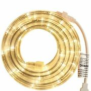 Rope Light - For Indoor And Outdoor Use 18 Feet 108 Led Warm-white Lights