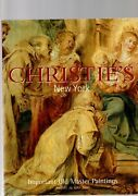 Important Old Master Paintings Christies Auction Catalogue New York 26 May 2000
