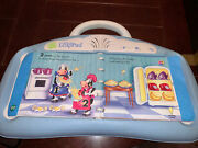 Leap Frog Little Touch Leap Pad Learning System 3 Books + Cartridges Blue