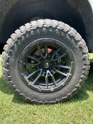 Fuel Rebel 20x10 With 35x12.50 Toyo Open Country M/t
