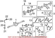 Genuine Oem Differential Housing For Jeep 68003542aa