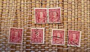 Lot Of Over 2000 Unsearched - 1930and039s Canada 3c King George V Stamp Scott 219