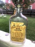 Antique Labeled Whiskey Pete Hagen's Rye 100 Proof