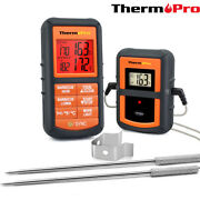 Thermopro Tp08 Wireless Remote Kitchen Cooking Meat Thermometer - Dual Probe For