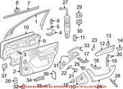 Genuine Oem Power Seat Switch For Mercedes 22082193517c45