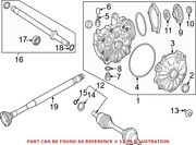 Genuine Oem Front Right Cv Axle Assembly For Mercedes 2133303603