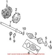 Genuine Oem Front Right Cv Axle Assembly For Mercedes 204330520080