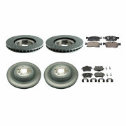 Genuine Front 375mm And Rear 345mm Brake Kit Disc Rotors Pads For Mb W166 Gl450