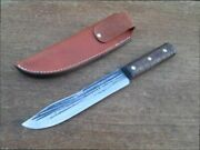 Antique Cases Tested Xx Carbon Steel Butcher-style Hunting Knife - Razor Sharp