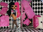 New Lol Surprise Omg Doll Metal Chick Remix Opening Act Exclusive Super Sonix