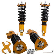 Coilovers Kits For Subaru Legacy 1999-2004 Shock Absobers Adjustable Damper Gold
