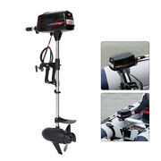 60v Electric Outboard Fishing Boat Propeller Engine 2200w Brushless Motor Usa