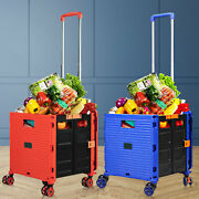 Stair Climber Foldable Rolling Trolly Chair Movable Luggage Shopping Basket Pp