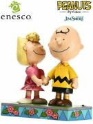 Peanuts By Jim Shore Charlie Brown And Sally I Love My Big Brother Statue New