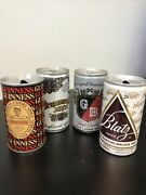 Vintage Guinness Export Stout Pull Top Beer Can Empty Steel Liverpool And 3 More