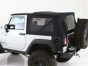 Softtop Premium Canvas For 07-09 Wrangler Jk 2dr Oemreplacement W/tinted 9074235