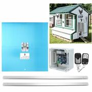 Chicken House Automatic Door Opener Light And Timing Control Farm Accessories Us