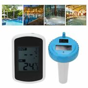 Floating Solar Wireless Thermometer Swimming Pool Pond Water Temperature Monitor