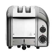 Toaster 4-cooking Control Built-in Timer On Indicator Light Metallic Silver