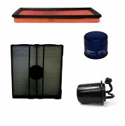 Engine Oil Air Paper Cabin Fuel Filter Kit Acdelco For Subaru Forester 2.5l H4