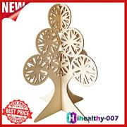 Diy Wooden Christmas Ornaments 3d Hollow Carved Xmas Tree Crafts Home Decor