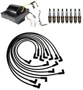 Ignition Wires 1 Coil 8 Spark Plugs Kit Acdelco For Lesabre Delta 88 4.4l V8 82