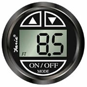 Faria Black 12851 Depth Sounder With In-hull Mounted Transducer-euro