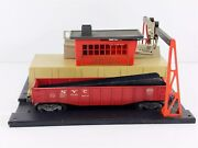 Lionel 342 Culvert Loading Station And 6342 Gondola Car 56-58 O Scale Structure