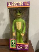Rare Sleestak Coin Bank Signed By Show Creators Sid And Marty Krofft