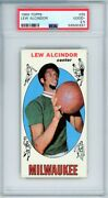 1969 Topps Basketball 25 Lew Alcindor Rc Psa 2.5 Great Centering