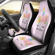 Best Unicorn Car Seat Covers Unicorn Lover Front Car Cover Gift Custom Car Seat