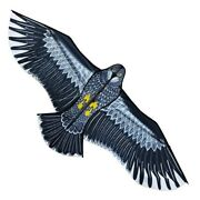 3d 1.1m Flat Eagle Big Fly Bird Kites Windsock Outdoor Garden Cloth Toy For Kids