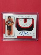 2019-20 National Treasures Nassir Little Rpa Rc🎯sik🎯patch Auto Ssp /75 Gem 10