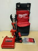 Milwaukee 2678-22o M18 Force Logic 6t Utility Crimper D3 Grooves Fixed O Die