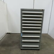 Rack Eng. 10-drawer Industrial Parts Tool Storage Shop Cabinet 30wx28dx60h