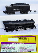 Mth Railking O-scale Nyc Hudson 4-6-4 + Nyc Caboose, Tank, Bxcar, Tofc In Boxes