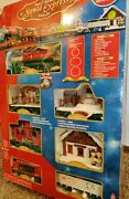 Santa Express Train Set Christmas From Eztec 41 Piece Battery Operated Lights Up