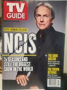 Mark Harmon Signed Tv Guide Exclusive Ncis Cbs Mint November 2017