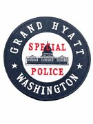 Us Grand Hyatt Special Police Washington District Of Columbia Patch