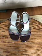 Hogl Leather Made In Austria Dressy Sandals Us Size 6 Worn Couples Times