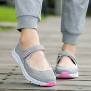 Summer Breathable Women Sneakers Healthy Walking Shoes Sporty Mesh Running 35-42